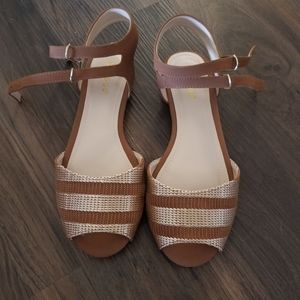 Brand new! Bamboo sandals! Size 6.5